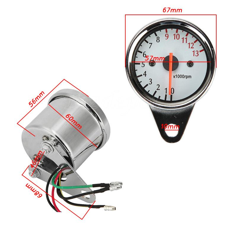 Led Backlit Tachometer Fit Kawasaki Vulcan Vn 500 750 800