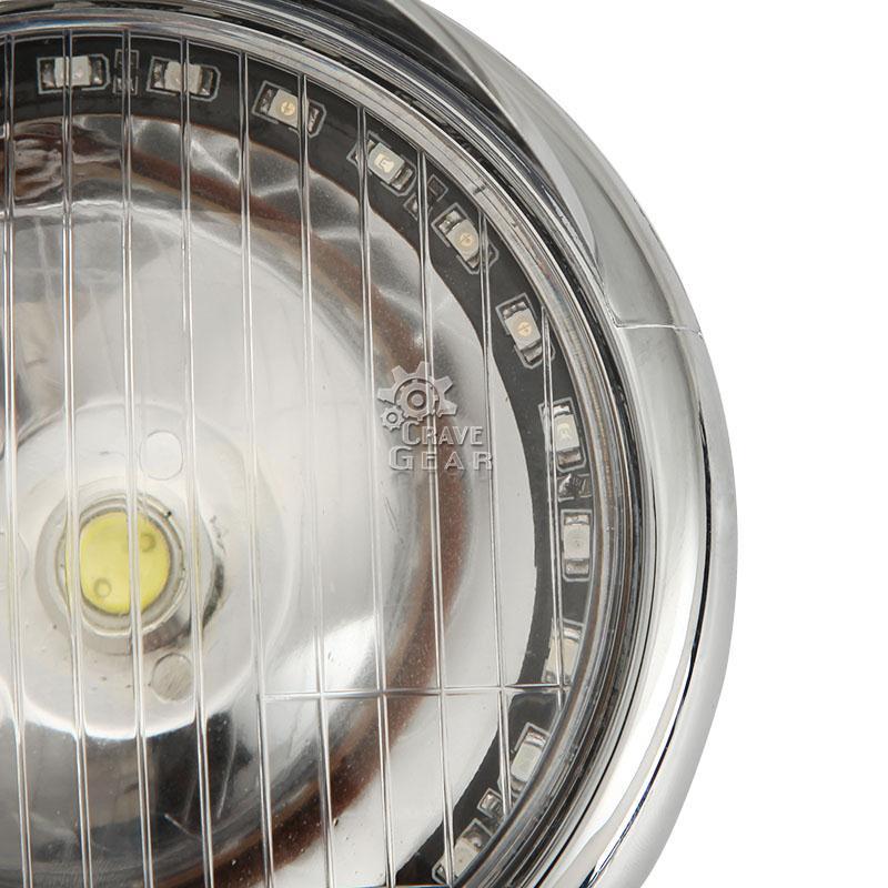 LED Passing Angel Eye Lights For Yamaha V Max VMX 1200