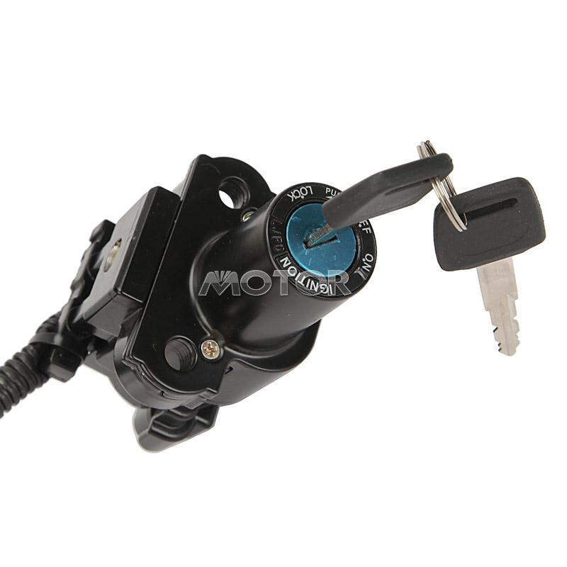 black fuel gas cap ignition switch lock key for honda cbr600 f4 99 00 cbr600 f4i ebay. Black Bedroom Furniture Sets. Home Design Ideas