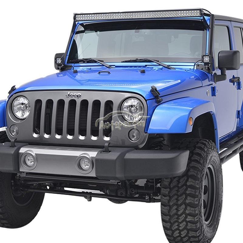 52inch 700w Cree 4 Quot 18w Led Lights Bar Mount Bracket Fit Jeep Jk Wrangler 54 Quot