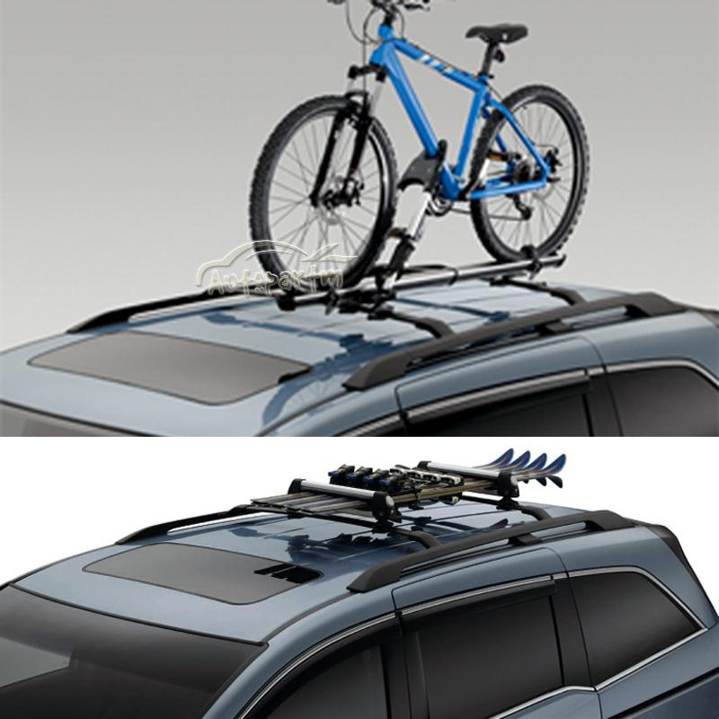 roof rack cross bars snowboard ski luggage carrier fit for 11 2015 honda odyssey ebay. Black Bedroom Furniture Sets. Home Design Ideas