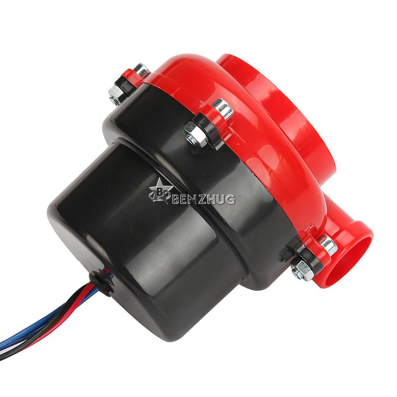 ABS Red-Black Universal Auto Electronic Turbo Blow Of