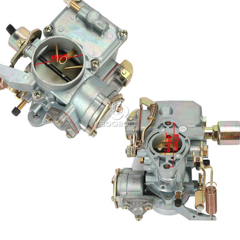 Vw Super Beetle Engine Upgrade: New Car Carburetor 98-1289-B For VW 1600cc Air Cooled Type