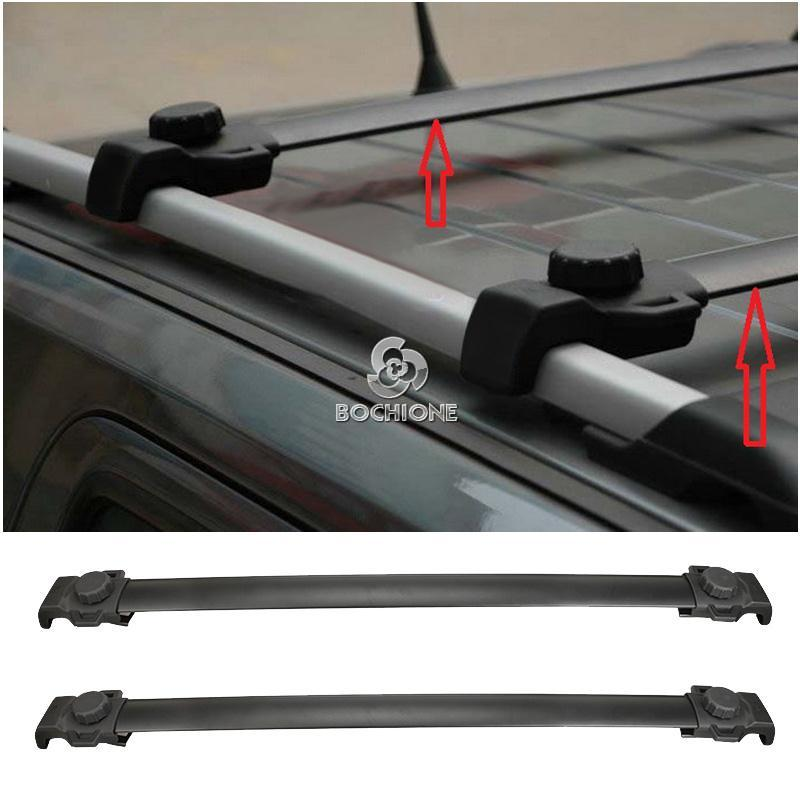82210804 100cm Roof Rack Crossbar Ski Kayak Carrier Fit
