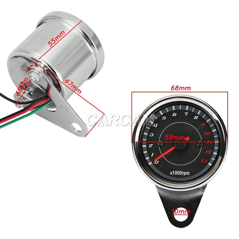 motorcycle tachometer gauge for honda shadow vt750 1100 ... motorcycle tachometer wiring diagram