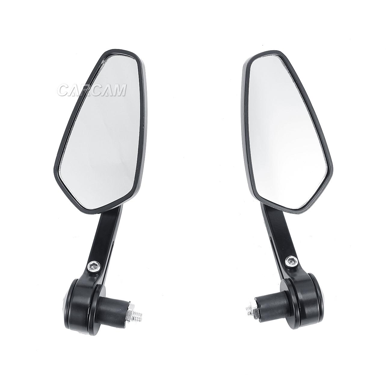 Cnc bar end side mirrors for ducati monster 620 696 750 for Mirror 750 x 900