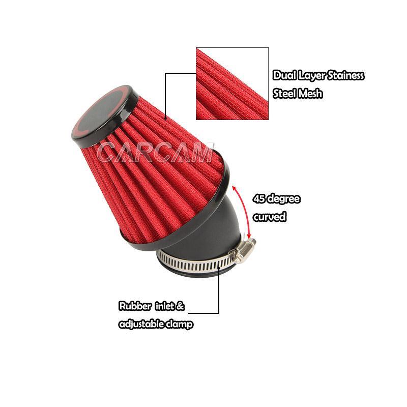 Yamaha Vino Air Filter Intake Size