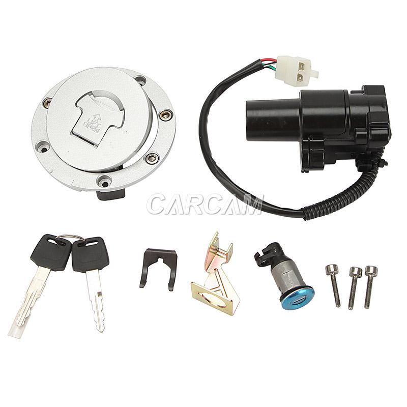 fuel gas cap ignition switch lock key for honda cbr600 f4 99 00 cbr600 f4i 01 02 ebay. Black Bedroom Furniture Sets. Home Design Ideas