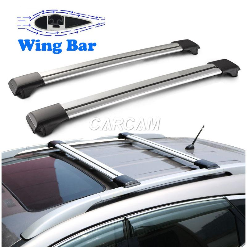 2X Roof Rack Top Cross Bar Car Luggage Rack For Mercedes