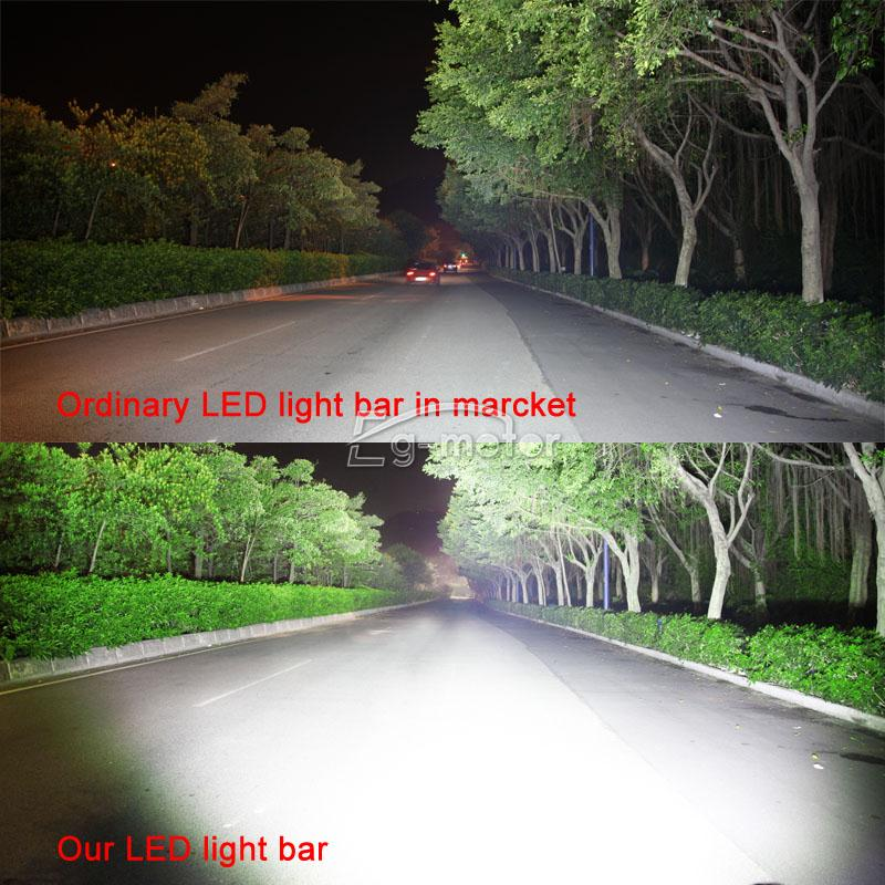 50INCH 480W CURVED LED LIGHT BAR SPOT FLOOD COMBO DRIVING ...
