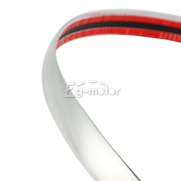 20mm x 5m chrome car side trim molding interior adhesive silver strip grille ebay. Black Bedroom Furniture Sets. Home Design Ideas