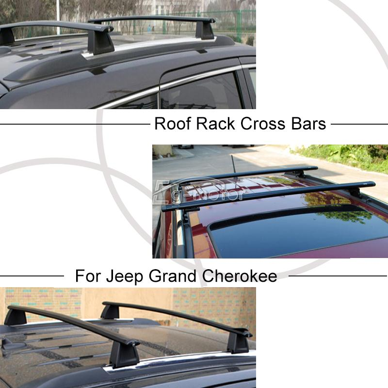 2x cross bars roof rack luggage kayak cargo for 2011 16 jeep grand cherokee 2013 ebay. Black Bedroom Furniture Sets. Home Design Ideas