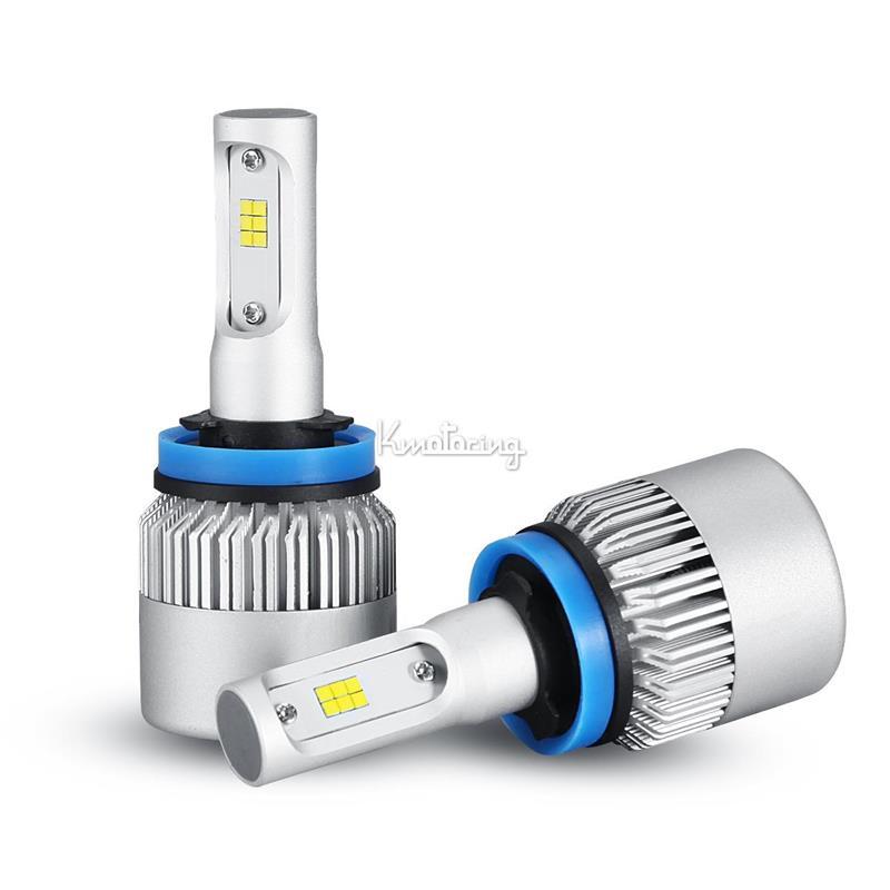 2pcs h11 h8 h9 252w philips single beam led headlights. Black Bedroom Furniture Sets. Home Design Ideas