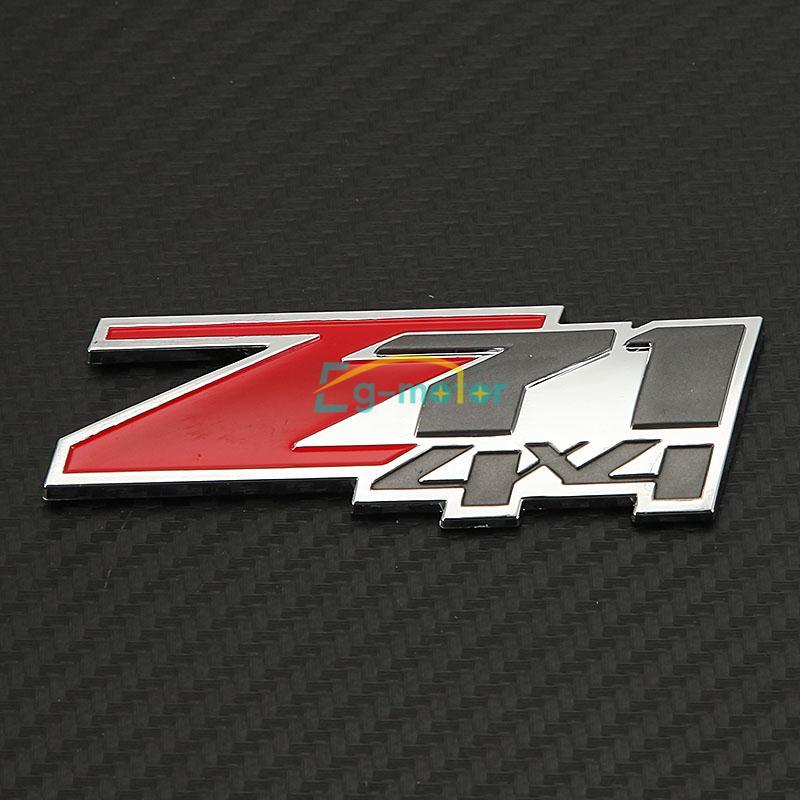 2x Z71 4x4 Sticker Emblem Decal Badge For Chevrol30et