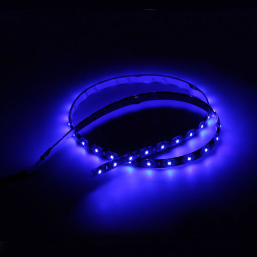 60cm 30 led streifen auto lampe flexible licht blau wasserdicht 12v neu ebay. Black Bedroom Furniture Sets. Home Design Ideas