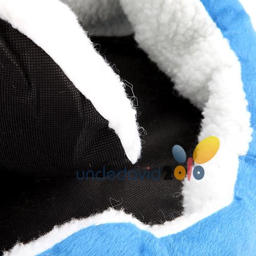 Soft Fleece Dog Cat Pet Puppy Kitten Winter Warm Bed House Nest Pad M
