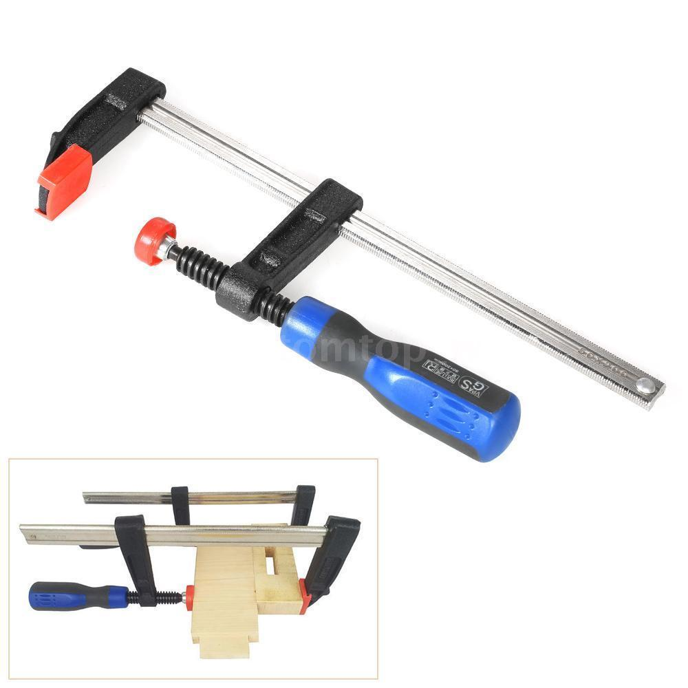details about heavy duty f-clamp bar clamp for woodworking wood clamping  carpenter tools uk