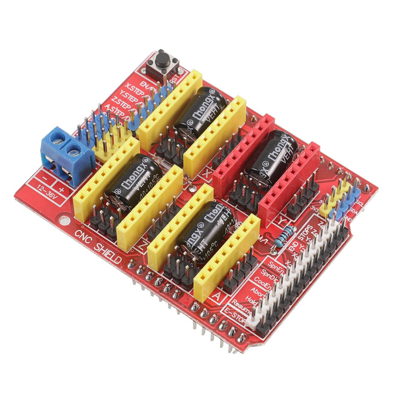 4x TI DRV8825 D3U1 For Arduino Compatible Board CNC V3 Shield