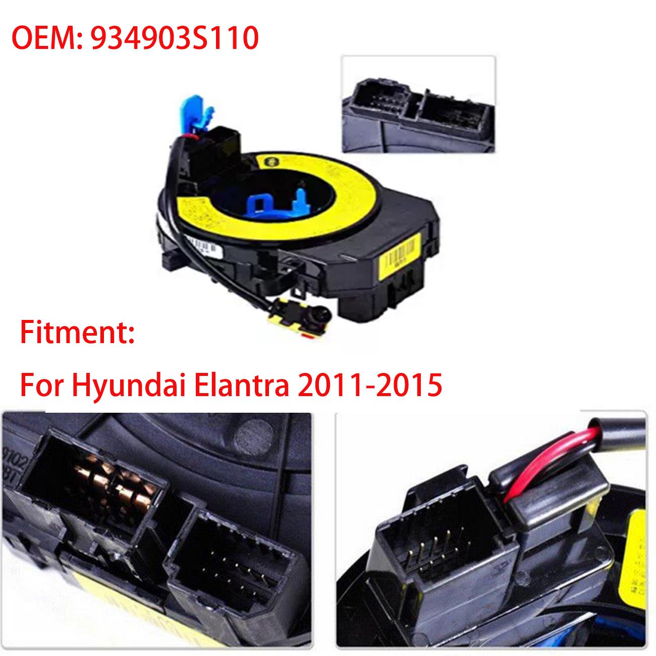 For Hyundai Elantra 2011-2015 New Spiral Cable Clock Spring Airbag 934903S110