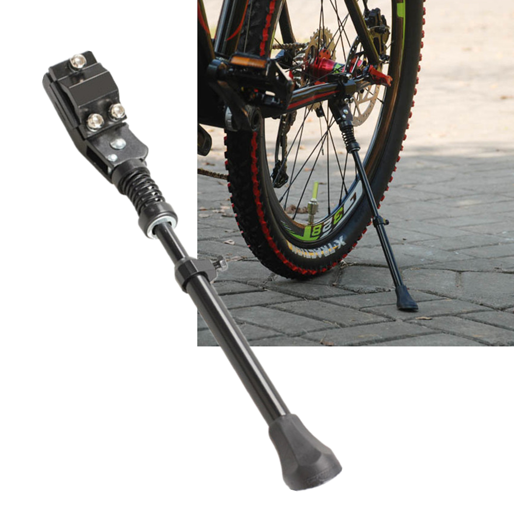 "Adjustable Aluminum Alloy Bike Kickstand Side Stand for 16/"" 20/"" 24/"" 26/"" Bicycle"