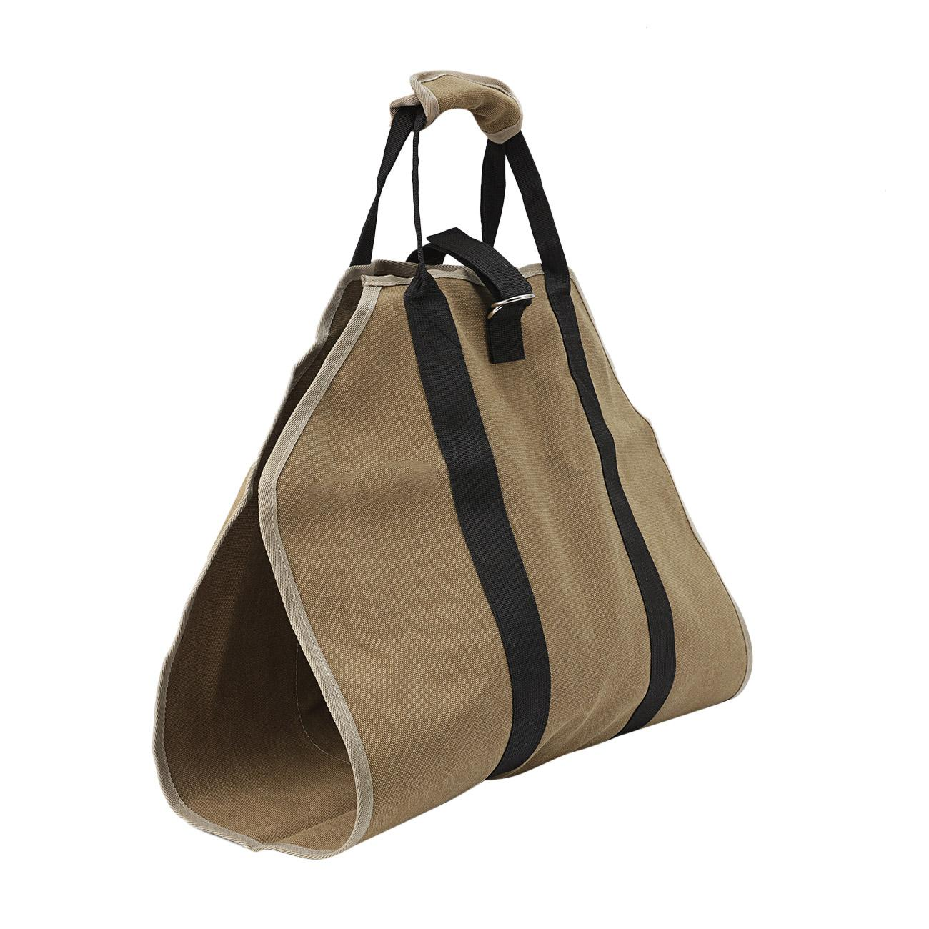 Outdoor Log Carrier Firewood Tote Wood Carrying Bag