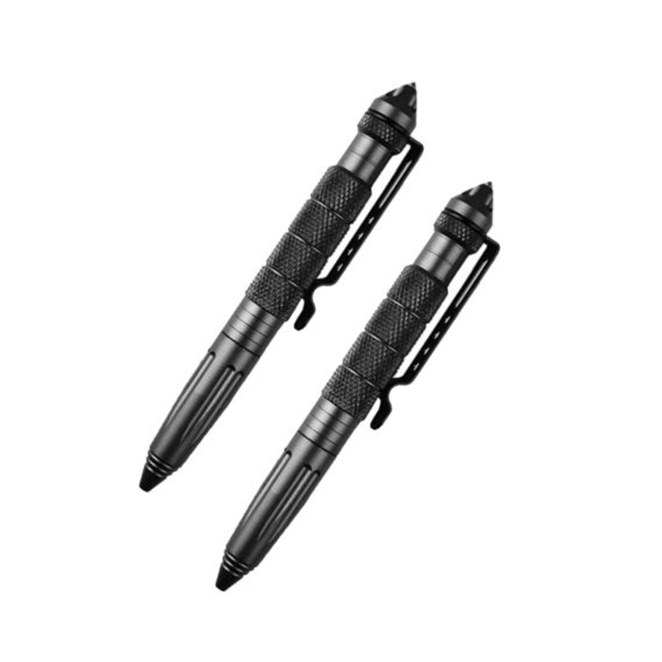 New 6/'/' Aluminum Tactical Pen Glass Breaker Self Defense Survival Military