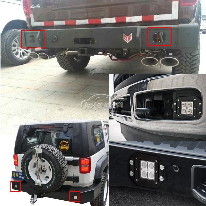 Flush Mount Led Bumper Lights