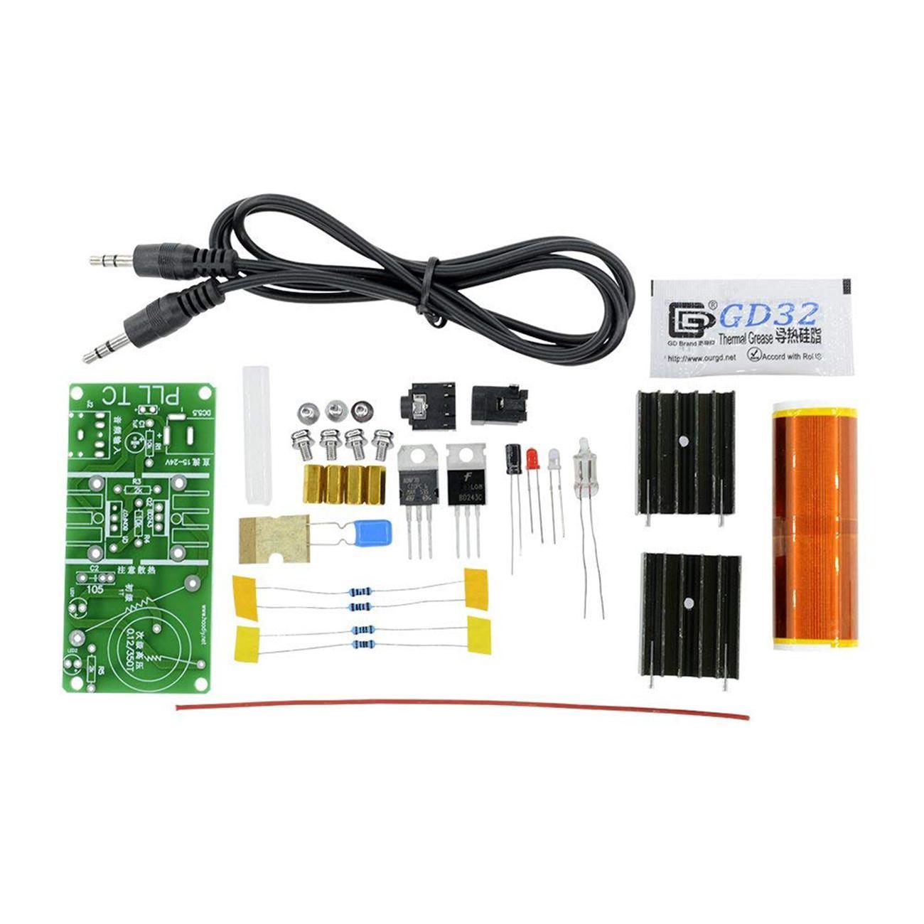 Dc 12v Mini Diy Tesla Coil Kit Arc Wireless Electric Power Wiring Diagram Product Display