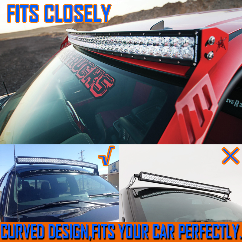 42inch 800w philips led curved led light bar spot flood offroad ute 42inch 800w philips led curved led light bar spot flood offroad ute 4x4 suv 50 ebay aloadofball Gallery