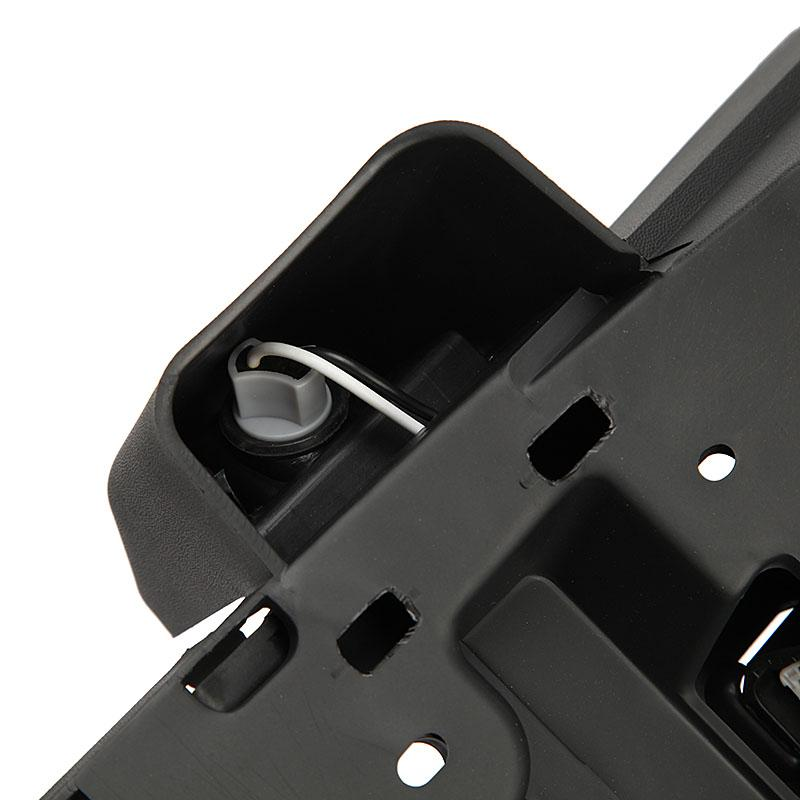 Rear License Plate Tag Mount Bracket Frame Holder W Light