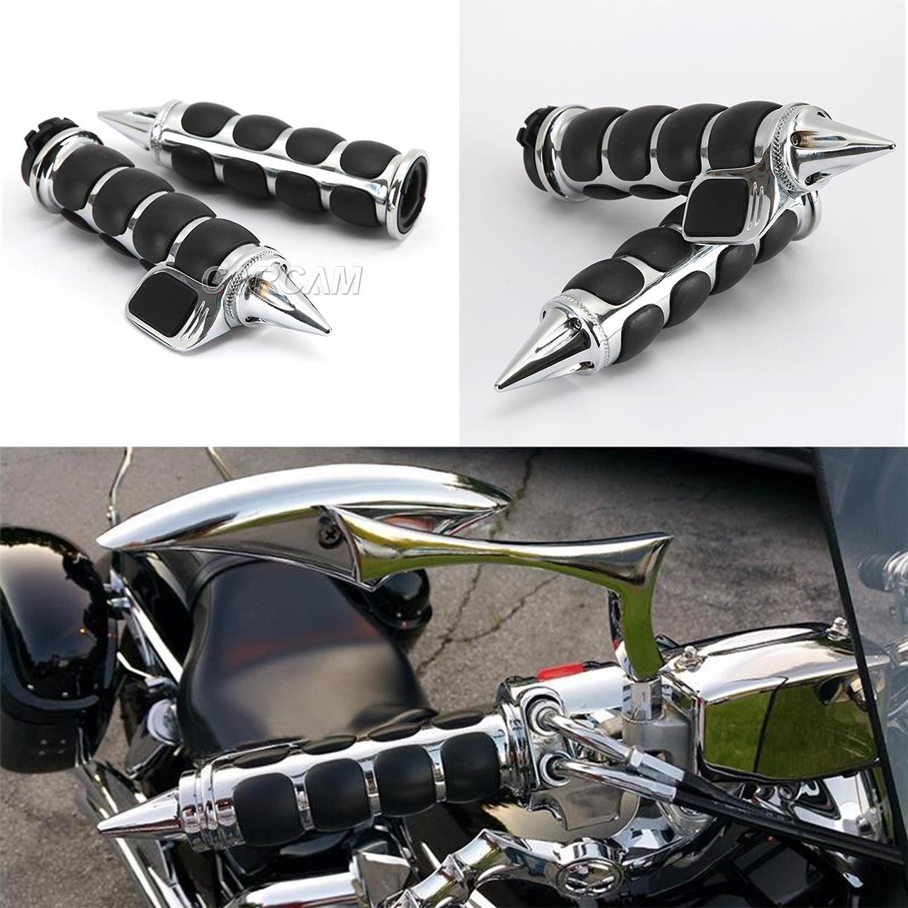 """1/"""" Handlebar Hand Grips For Honda VTX 1300 1800 C R S RETRO VT750 VT1100 VT700"""
