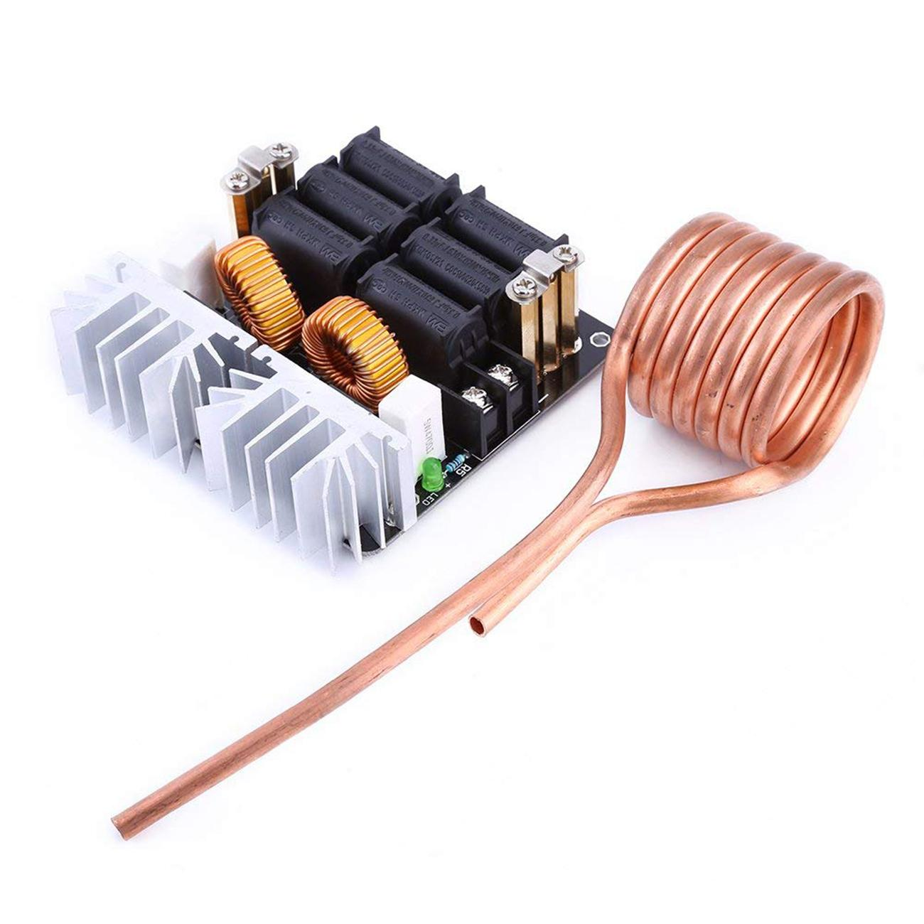 1000w Zvs Low Voltage Induction Heating Board Module Flyback Driver Thread Coil Wiring Positive Or Negative Product Display