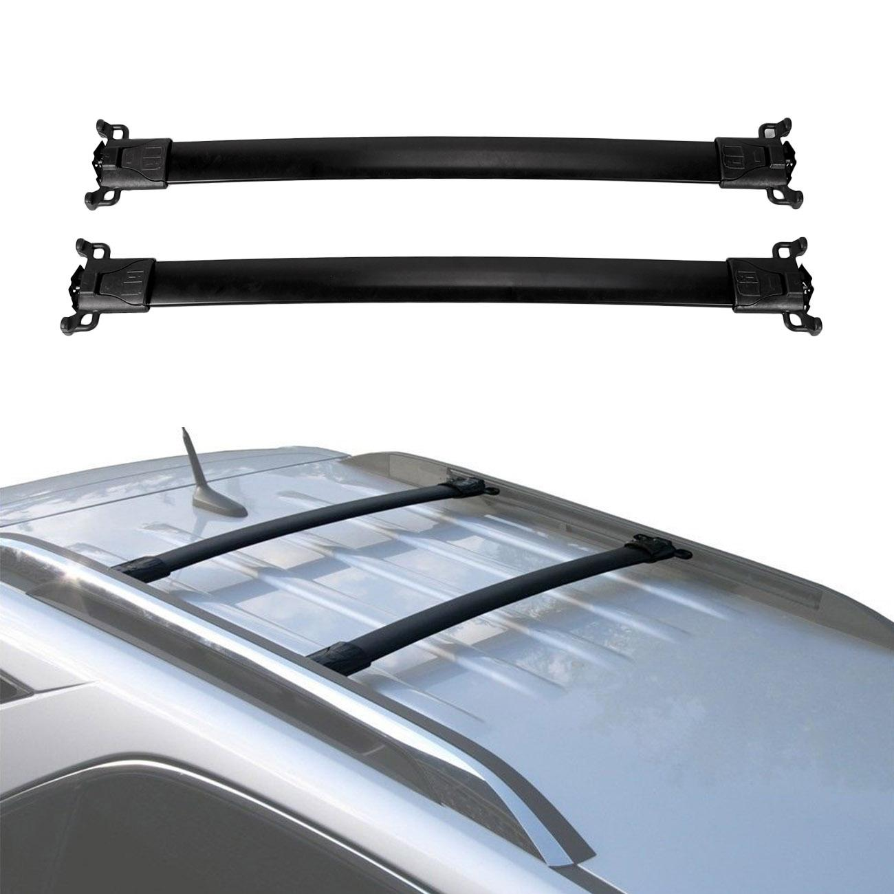 FOR 10-17 CHEVY EQUINOX//GMC TERRAIN OE ROOF RACK RAIL CROSS BAR LUGGAGE CARRIER