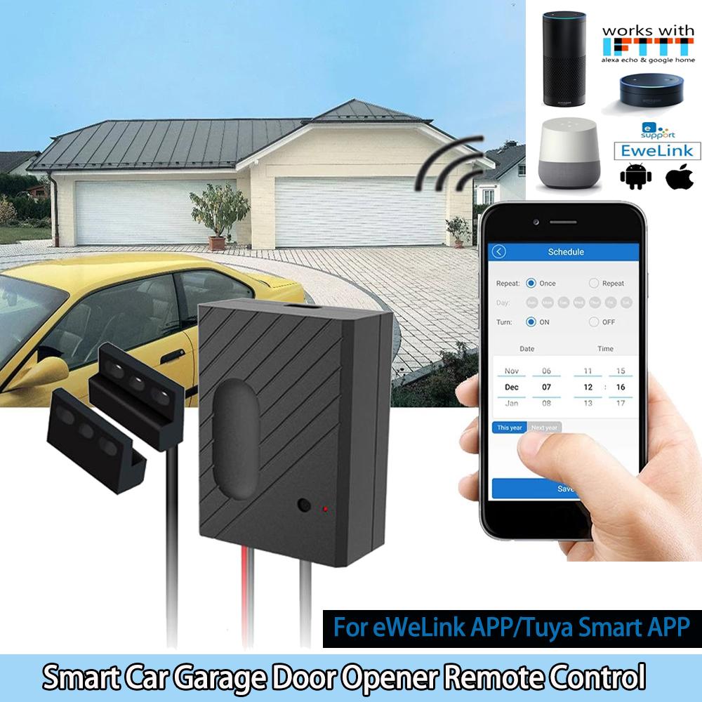 Details about Smart Car Garage Door Opener Remote Control for Tuya Smart  APP Phone WiFi Switch