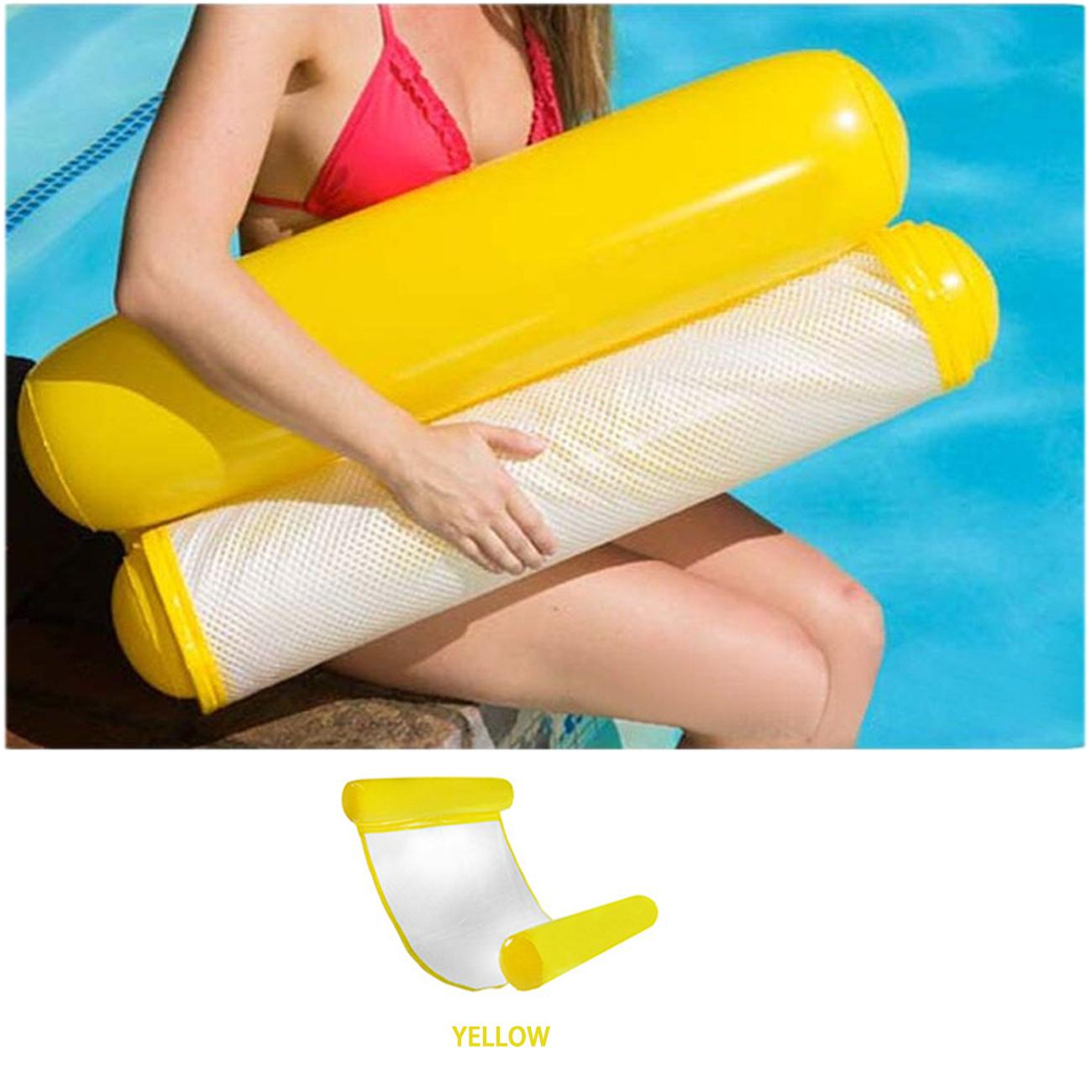 Portable Foldable Swimming Pool Inflatable Seat Summer Water Floating Chair Toys