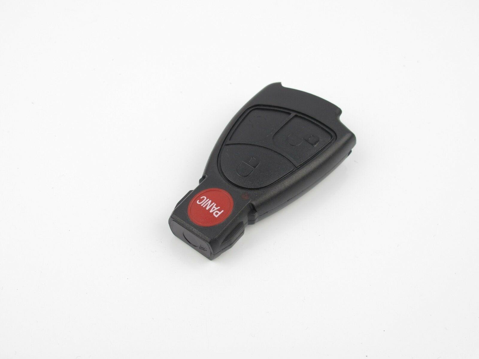 4 Button Remote Smart Key Fob Shell Case For Mercedes Benz C230 E320 E55 S500
