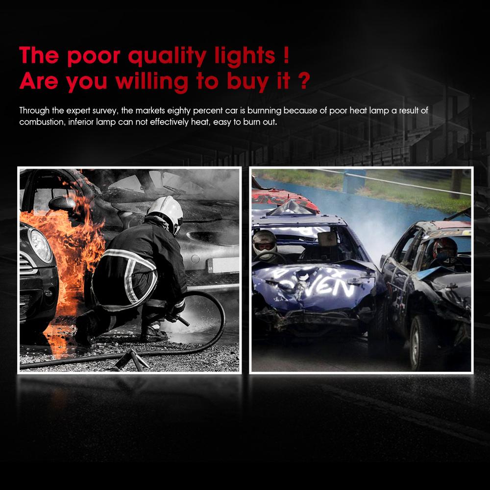 4pcs 9005 H7 Led Headlight Light Bulbs For Subaru Legacy Outback 2005 2014 Ebay