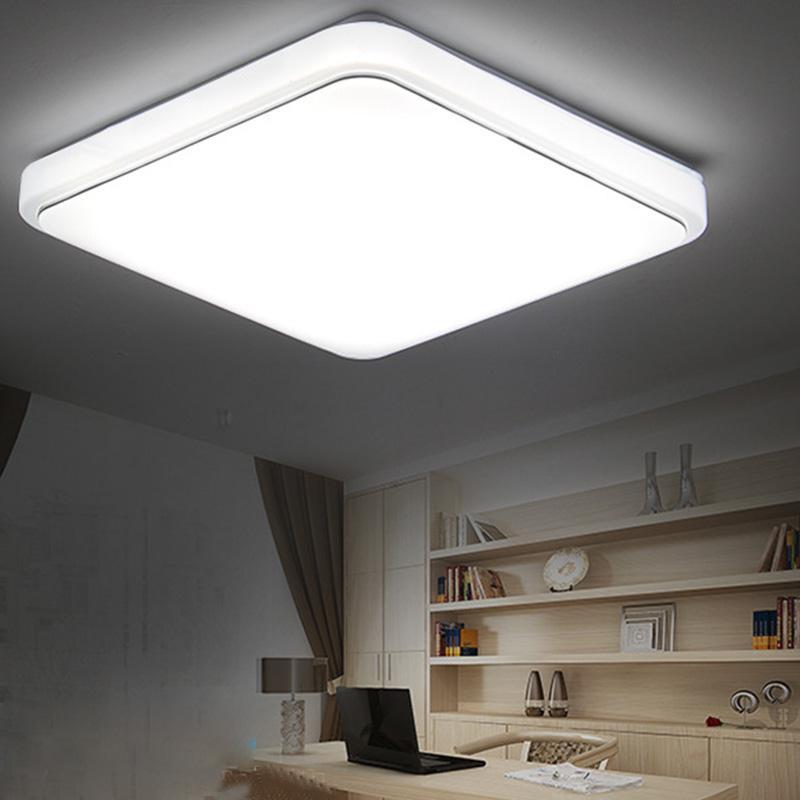 Modern 24w 30cmx30cm Square Led Ceiling Light Led Ceiling: Bright 24W Square LED Ceiling Down Light Panel Wall