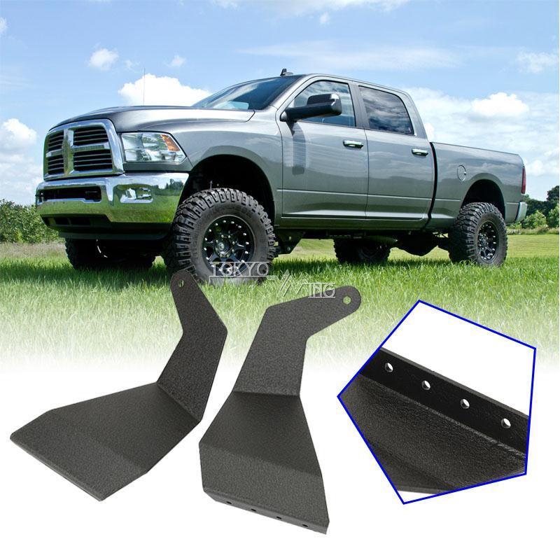 Brackets Steel For Dodge Ram 1500 2500 3500 09 2014 Straight Light Bar 52 Pair Ebay