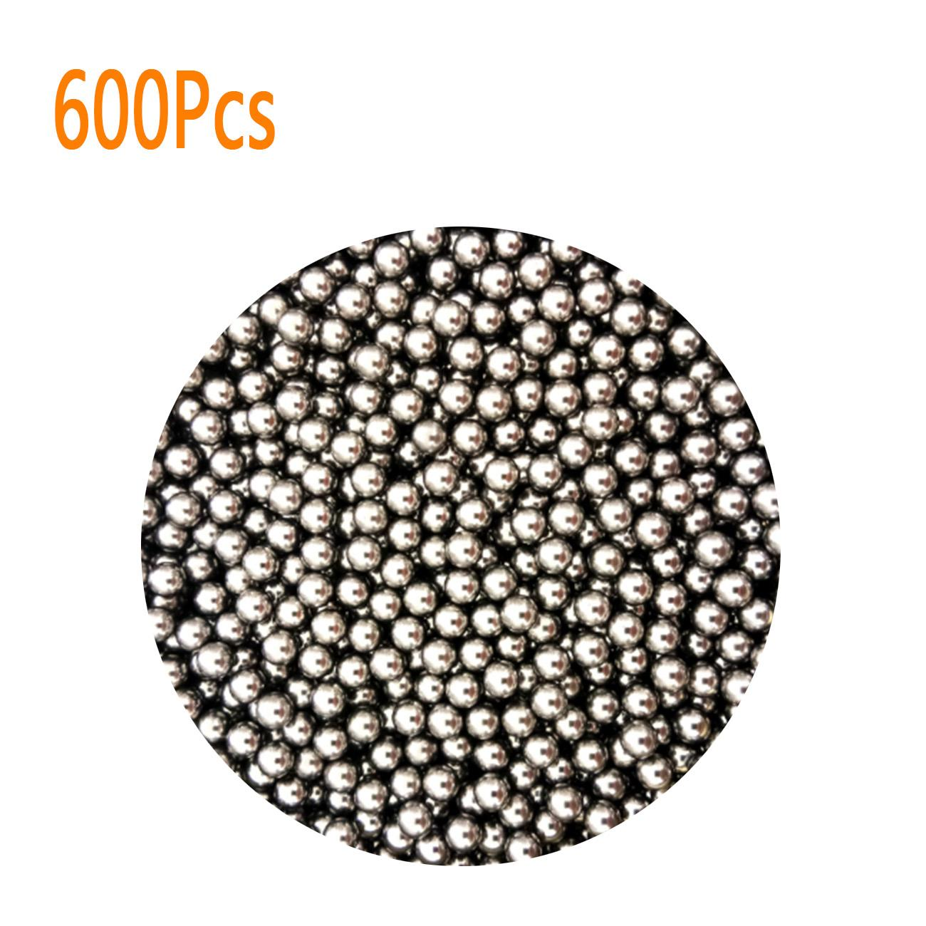 600x Steel Stainless Ammo Ball Hunting Catapult Slingshot Bearing Outdoor Game#