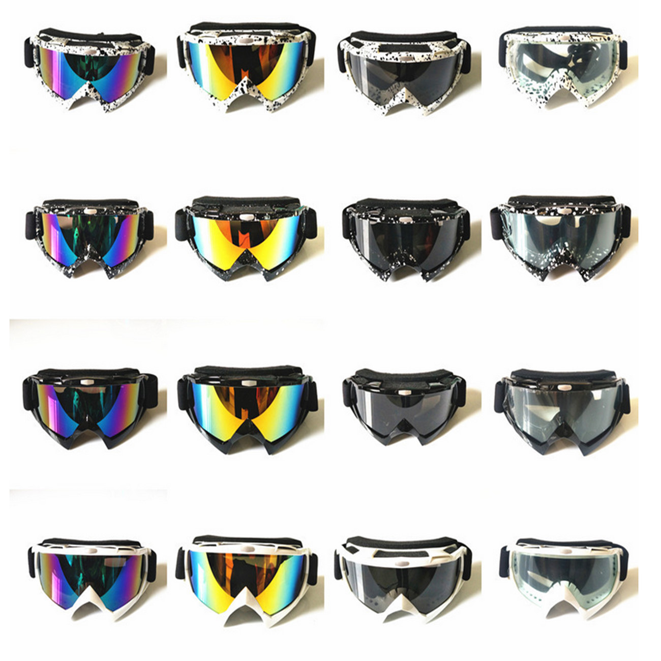Enduro MX Goggles Motocross MTB Off-Road Dirt Riding ATV Bike Eyewear PSB
