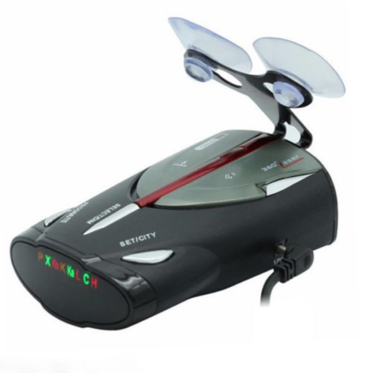voiture 360 degr 16 band gps vitesse police d tecteur radar laser alerte vocale ebay. Black Bedroom Furniture Sets. Home Design Ideas